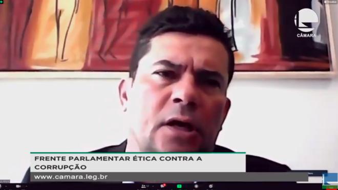 Sergio Moro defende fim do foro privilegiado e cobra Bolsonaro