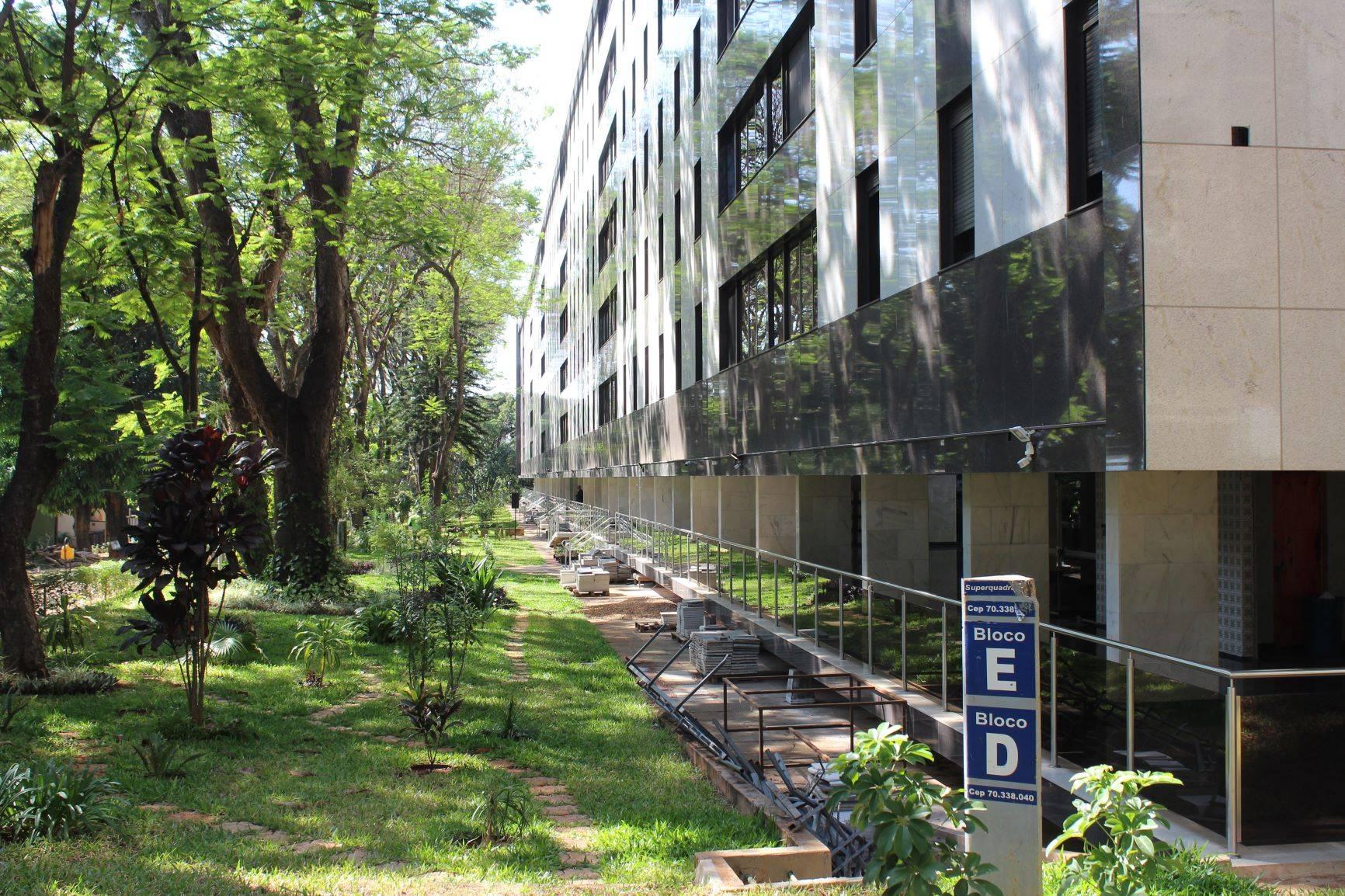 Bloco na Super Quadra Sul 302 tem apartamentos da reserva da Presidência da República<br />