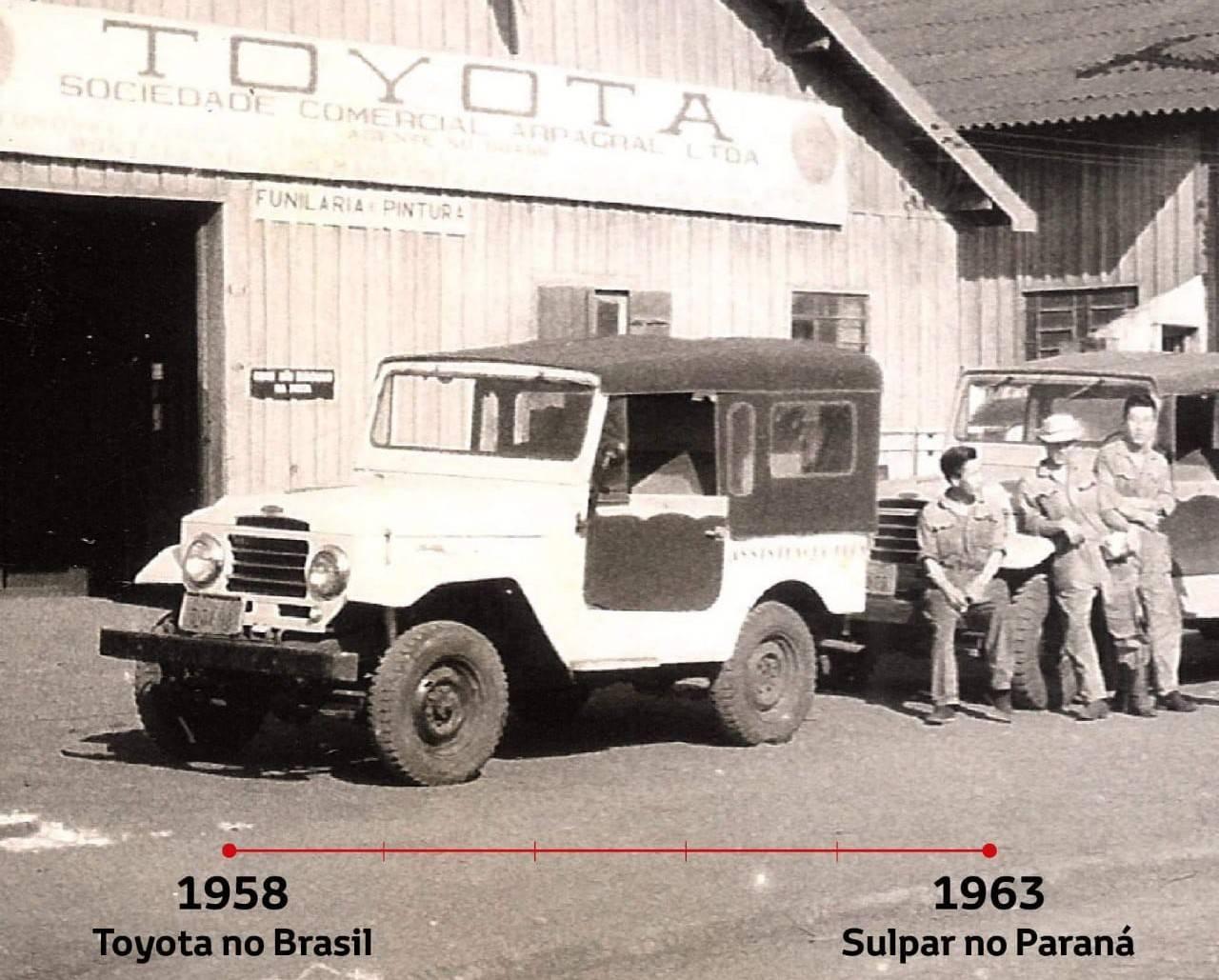 Toyota Bandeirante, o primeiro carro nacional da marca