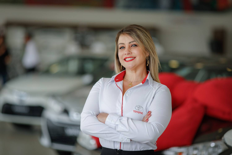 Priscilla Pozzi, gerente Comercial da Toyota Sulpar