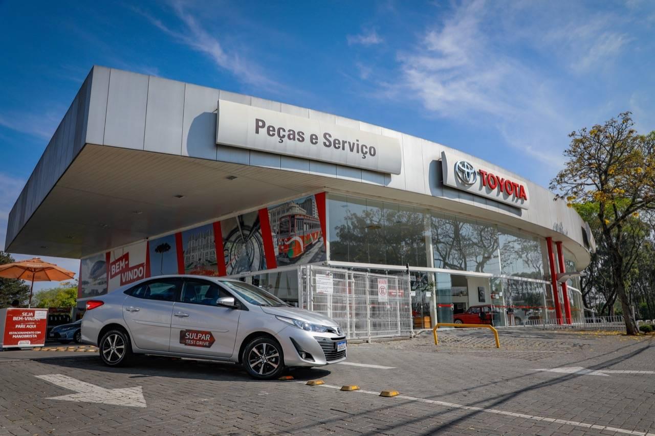 Concessionária Toyota Sulpar Alto da XV