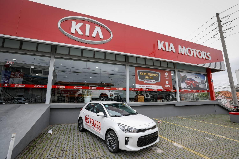 Kia Motors Sulpar em Curitiba