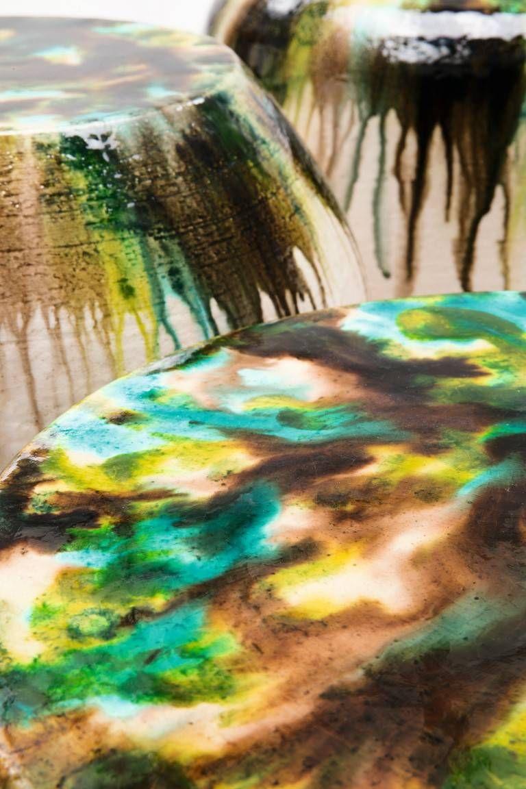 Coleção de banquinhos assinados por Paola Lenti. Fotos: Paola Lenti/Divulgação