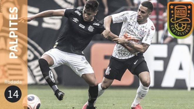 Veja os palpites para os jogos da 14ª rodada do Brasileirão 2020