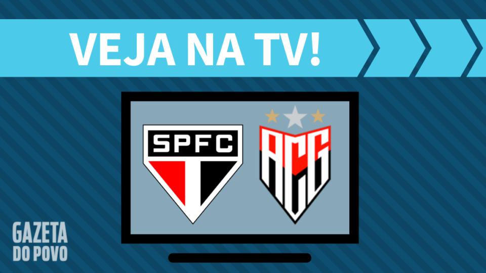 São Paulo x Atlético-GO AO VIVO: saiba como assistir ao jogo na TV
