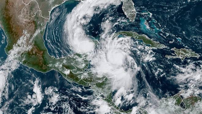 furacão delta