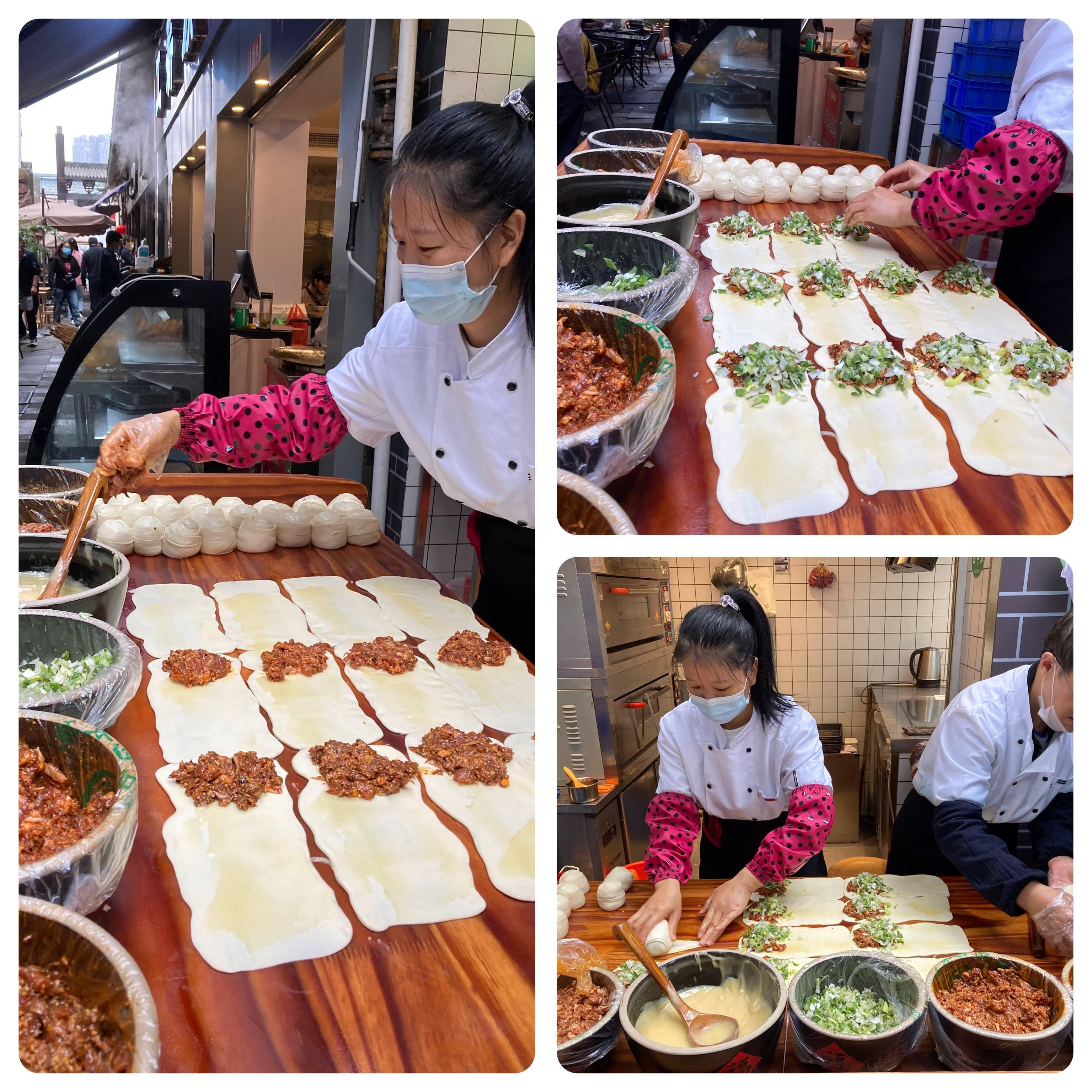 Guōkuī, receita milenar, frito ou assado, com ingredientes simples e frescos, e claro, mãos de fada. Impossível não amar!