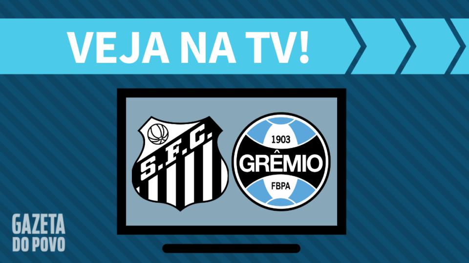 Santos x Grêmio AO VIVO: saiba como assistir na TV