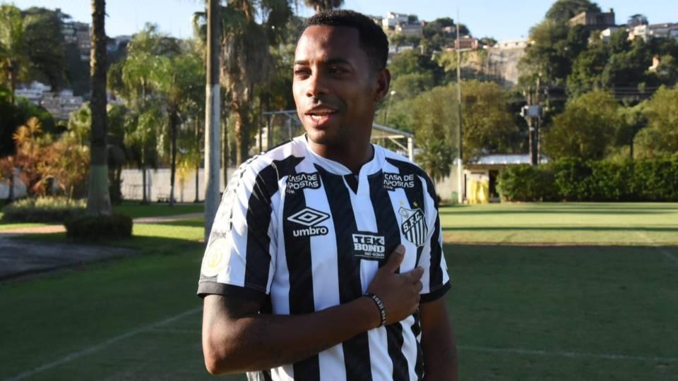 Condenado por estupro, Robinho volta ao Santos. E há quem minimize. É o Brasil