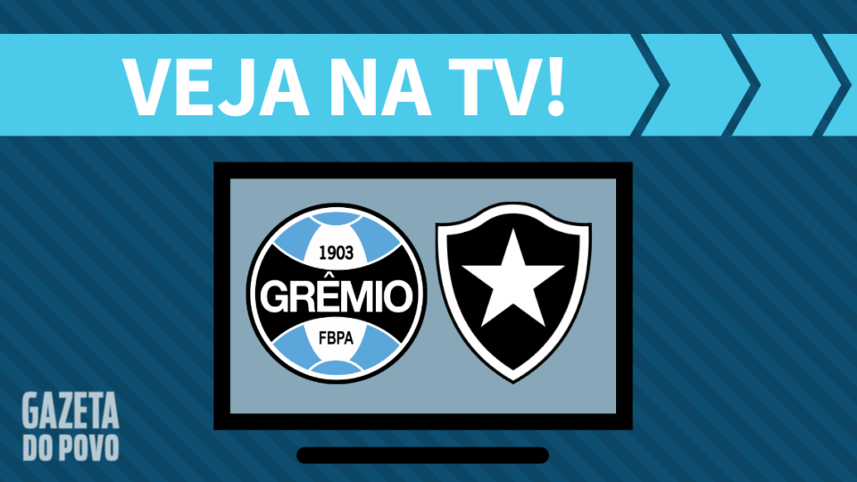 Grêmio x Botafogo AO VIVO: saiba como assistir na TV