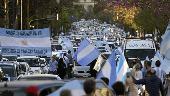 PROTESTOS ARGENTINA