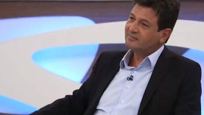 O ex-ministro da saúde Luiz Henrique Mandetta no Roda Viva