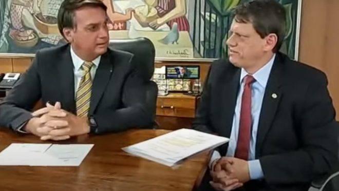 Presidente Jair Bolsonaro anunciou mudanças no Código de Trânsito Brasileiro
