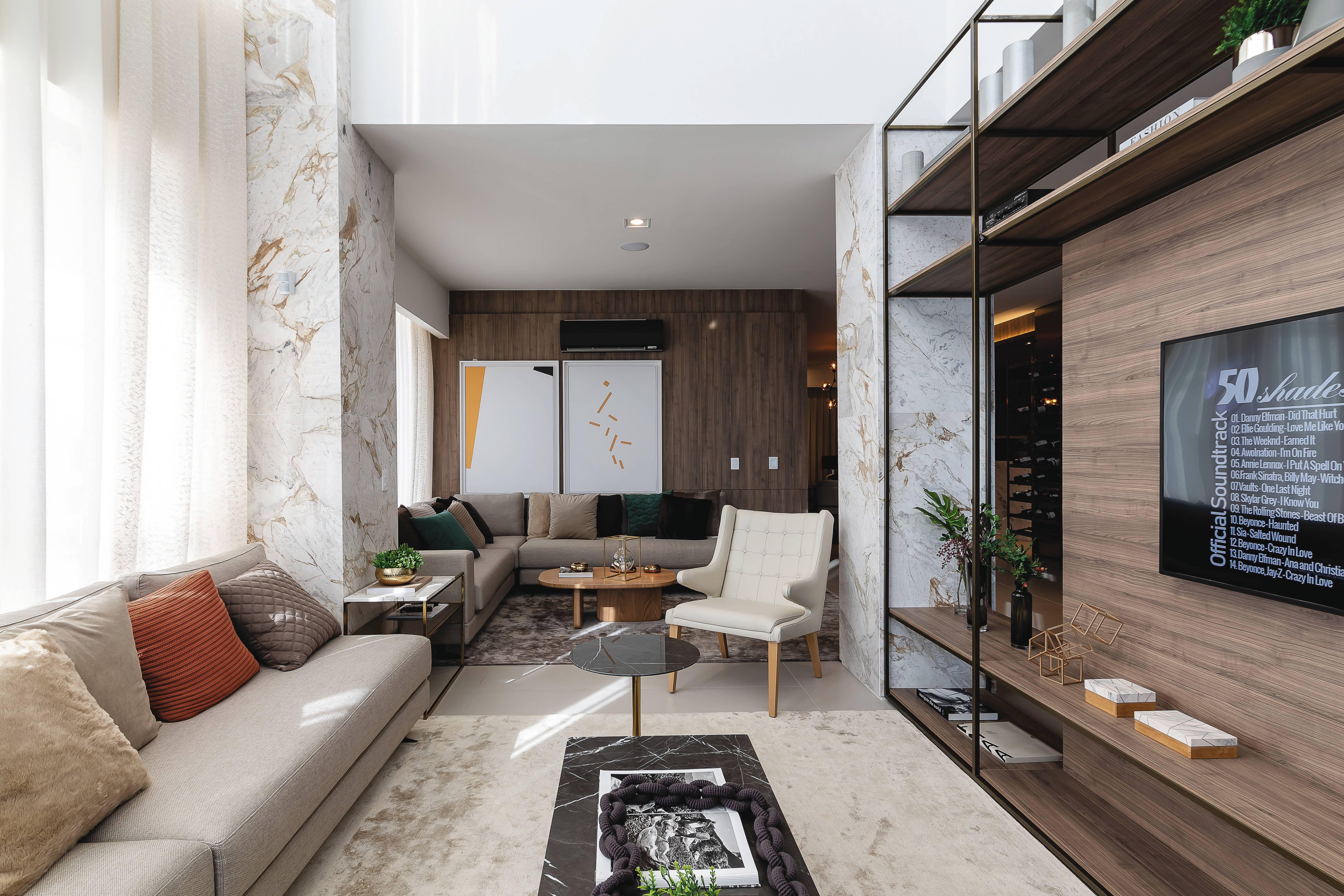 Maior conforto e bem-estar nos ambientes são fatores que influenciam a escolha por um imóvel. Na foto, o apartamento decorado do MAI Terraces Barigui.