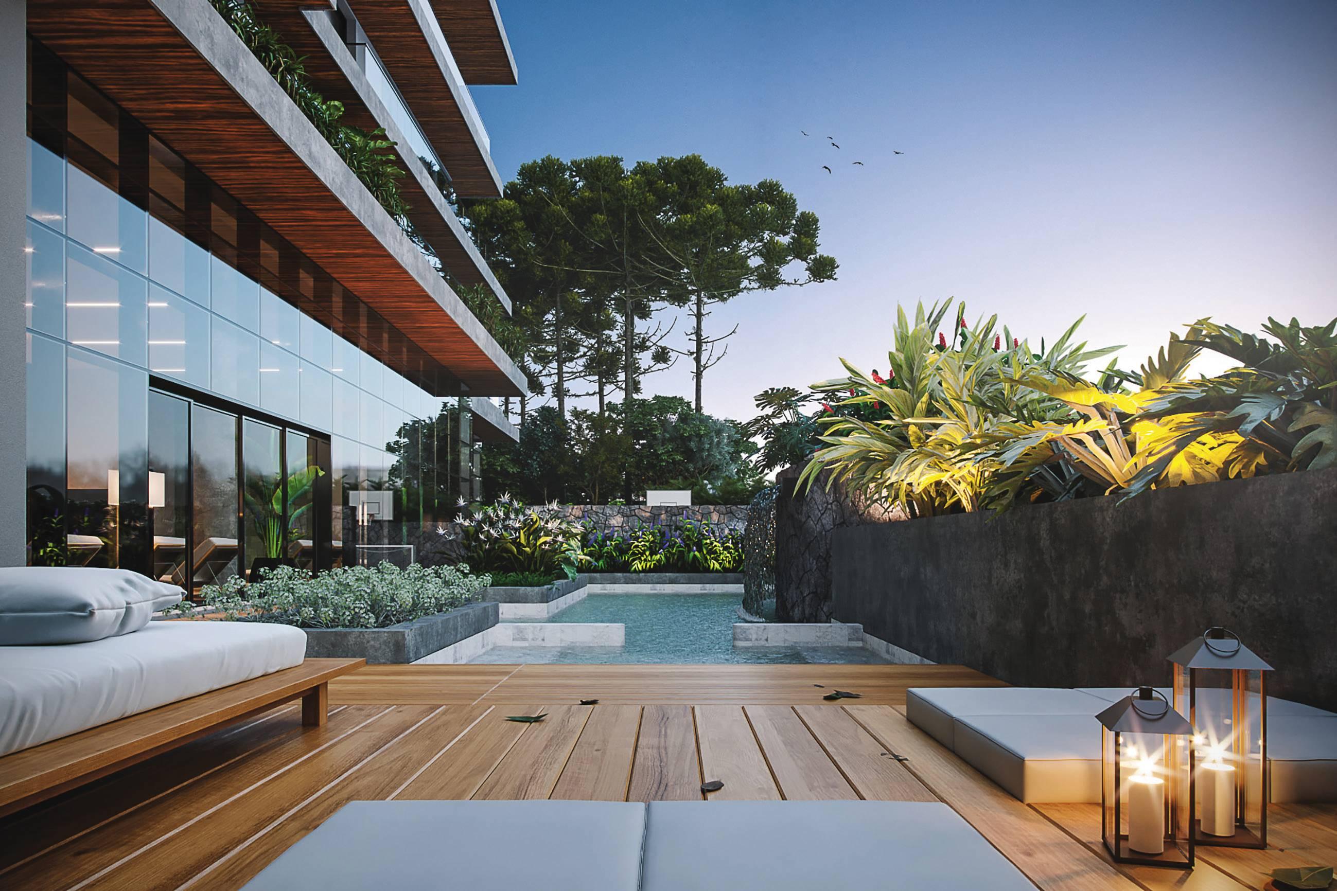 O edifício Pinah, da Construtora Laguna, é o primeiro projeto brasileiro a receber o selo WELL, voltado ao bem-estar.