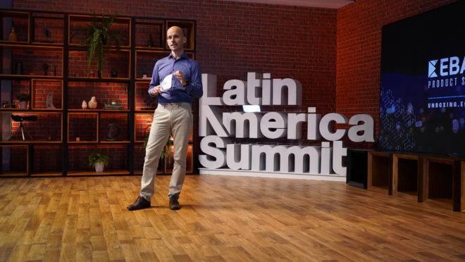 O co-fundador e COO do Ebanx, João Del Valle fez o anúncio de expansão de investimentos durante a segunda edição do Ebanx Summit 2020.