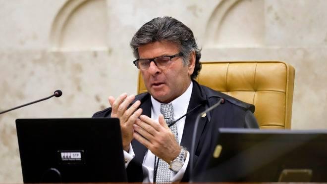 Ministro Luiz Fux, presidente do STF, profere o placar final do julgamento.