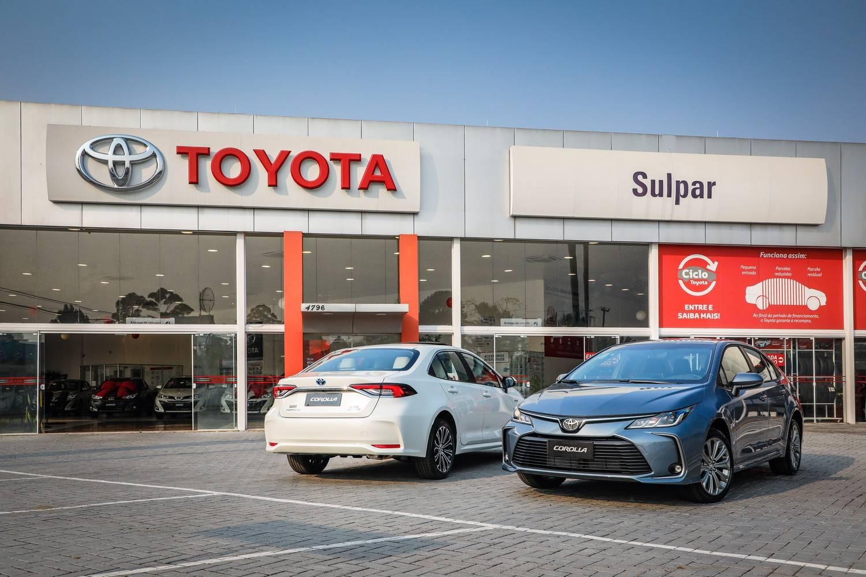 Toyota Corolla concessionária Sulpar