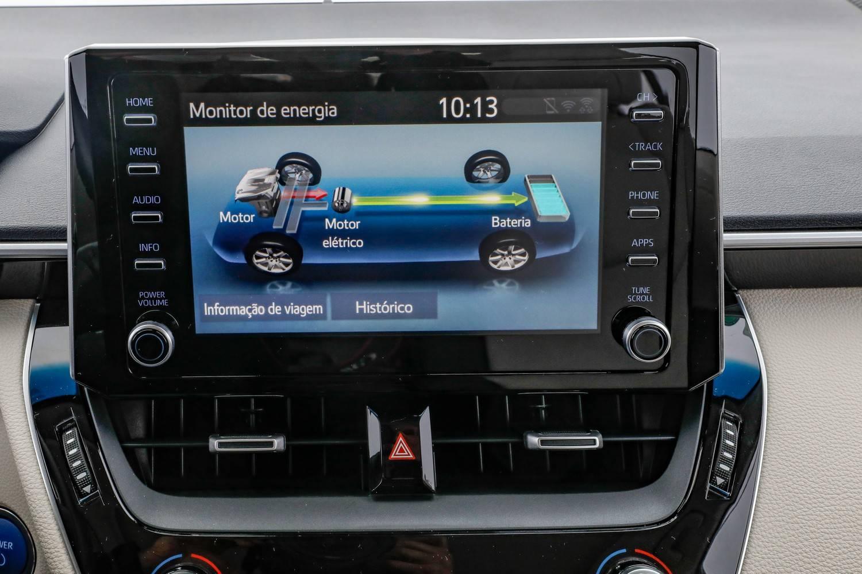 Toyota Corolla híbrido multimídia