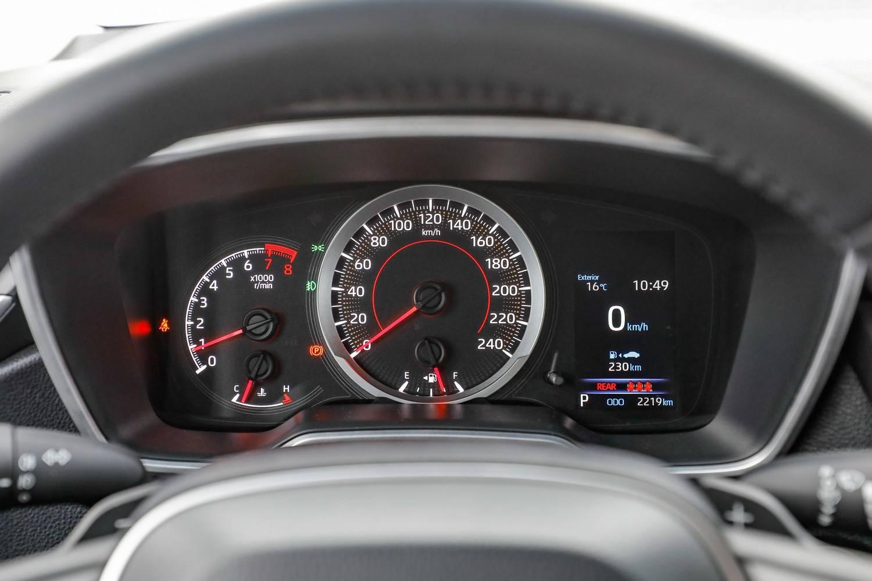 Toyota Corolla XEi quadro de instrumentos