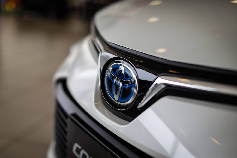Toyota Corolla híbrido showroom Sulpar