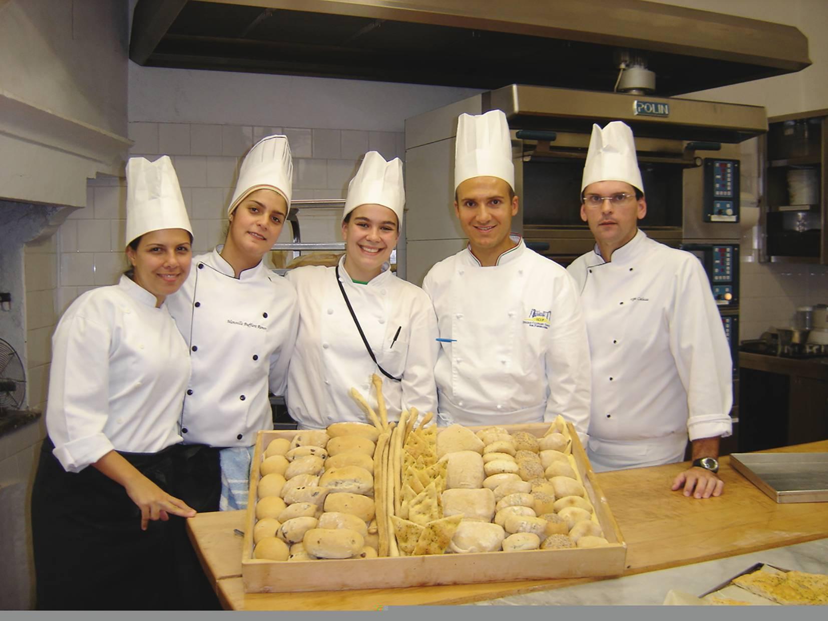 Manu durante temporada de estudo na Itália, em 2007. Foto: Arquivo Pessoal