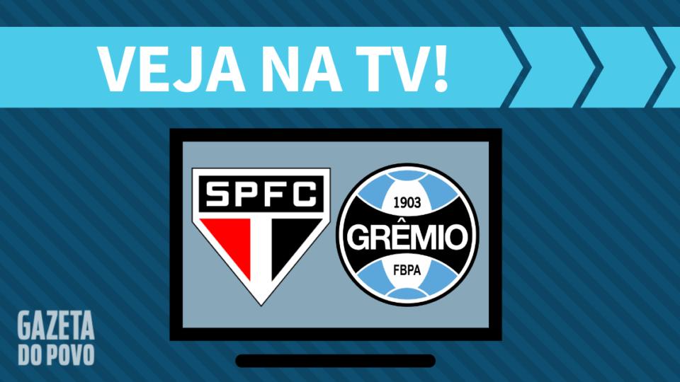 São Paulo x Grêmio AO VIVO: saiba como assistir na TV