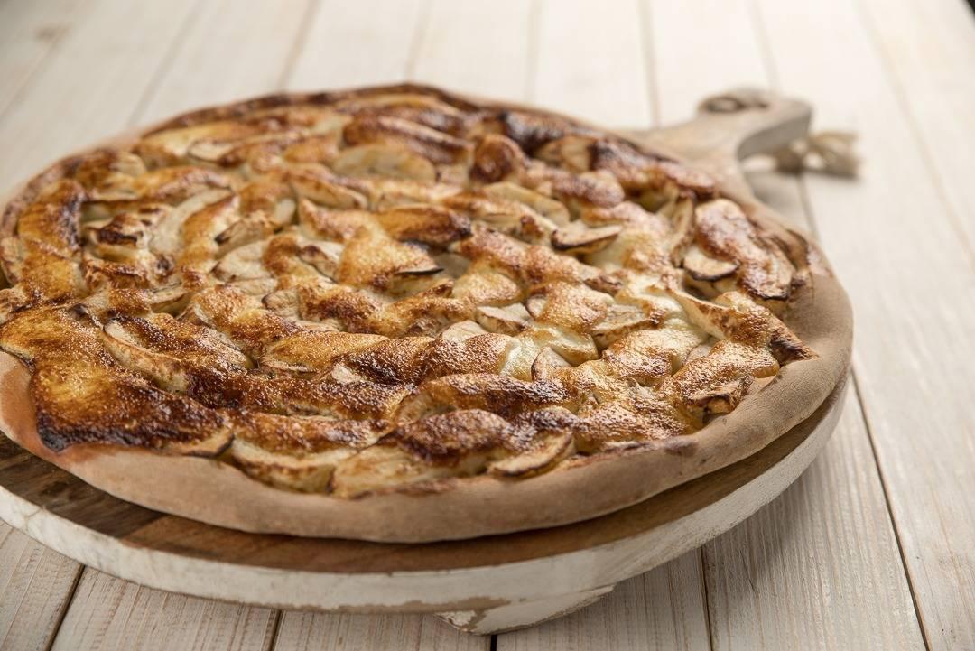 Pizza Prime Bigorrilho apresenta versão com banana. (Foto: Divulgação/Vina)