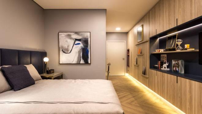 O projeto busca preservar a identidade dos idosos, proporcionando espaço para a inserção de objetos pessoais nos quartos