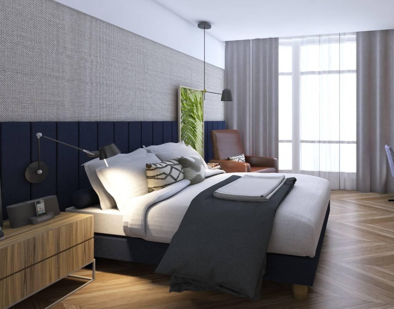 Segundo a designer de interiores, houve uma busca por elementos que trouxessem referências residenciais