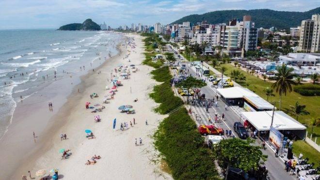 Praias do Paraná esperam um grande volume de turistas na temporada.
