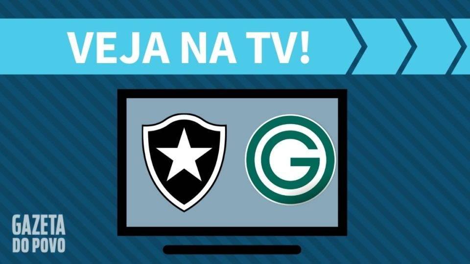 Botafogo x Goiás AO VIVO: saiba como assistir ao jogo na TV