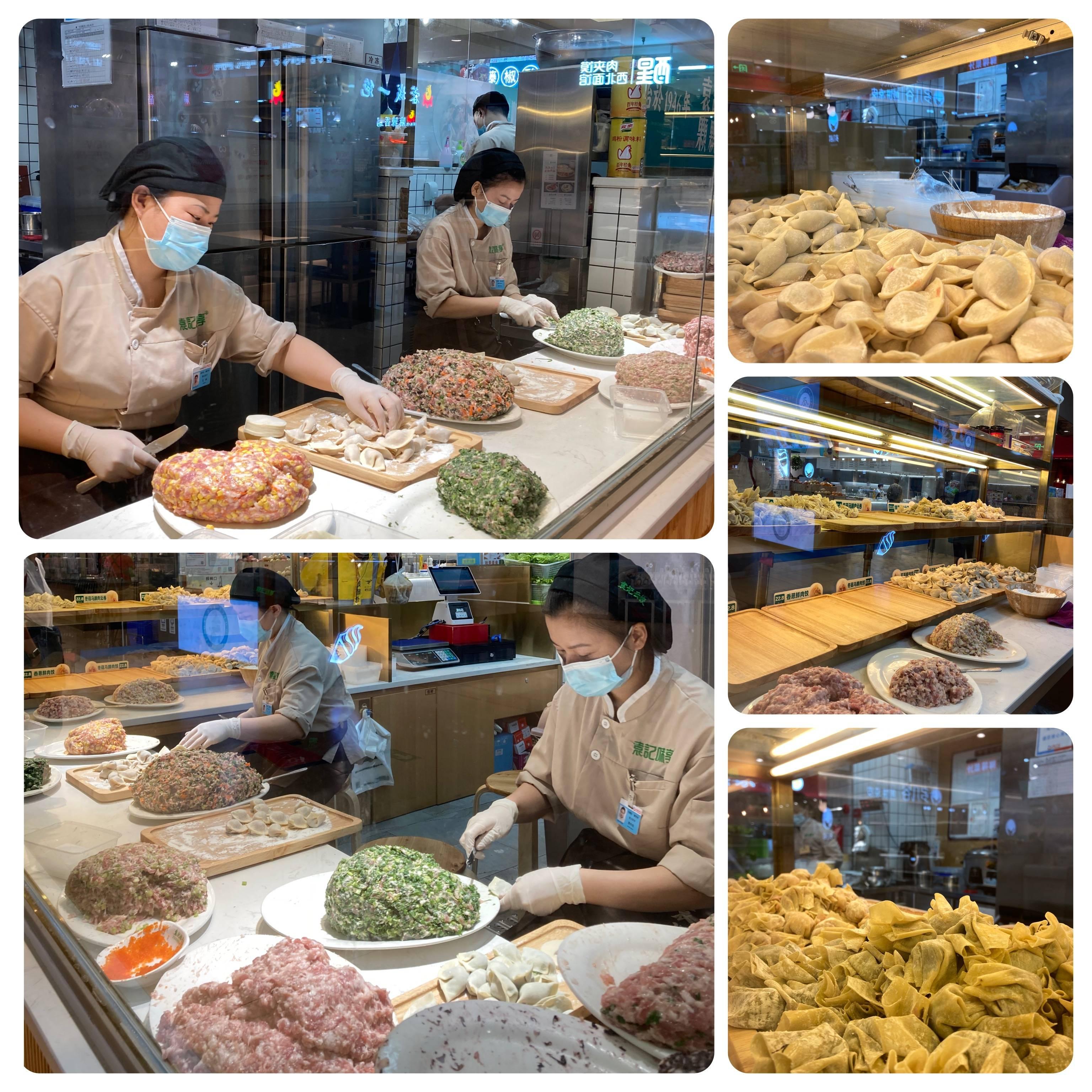 A transparência, a organização e limpeza encantam os olhos dos clientes que aguardam seu prato ficar pronto.