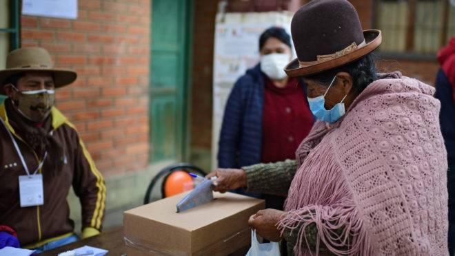 Eleições gerais na Bolívia