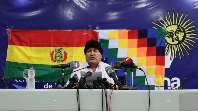 O ex-presidente da Bolívia, Evo Morales.