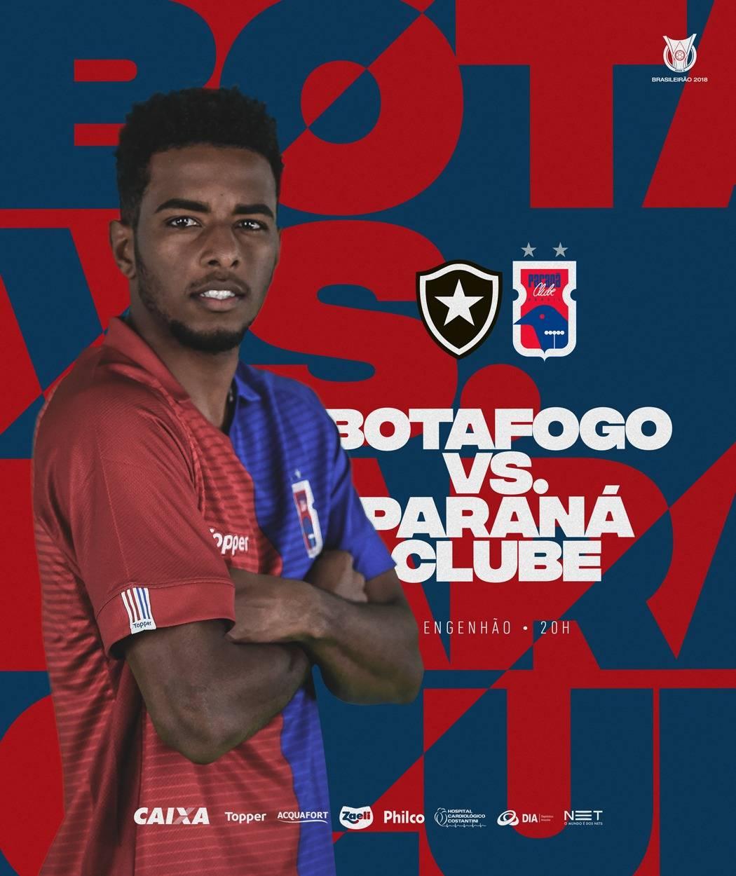 O Paraná contou com sete principais patrocinadores em 2018, na Série A.