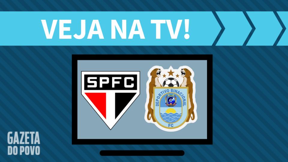 São Paulo x Binacional AO VIVO: saiba como assistir ao jogo na TV