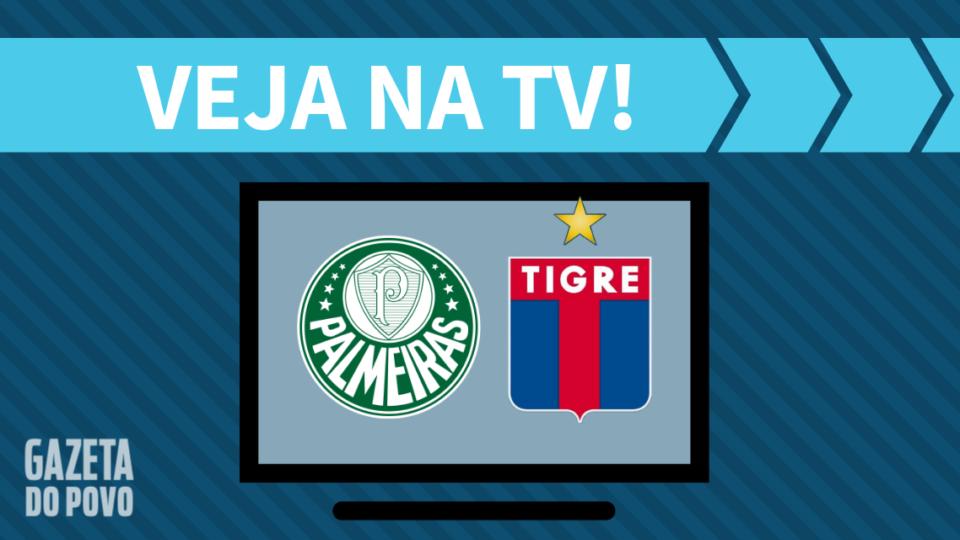 Palmeiras x Tigre AO VIVO: saiba como assistir ao jogo na TV