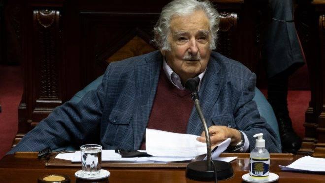 "José ""Pepe"" Mujica, ex-presidente do Uruguai."