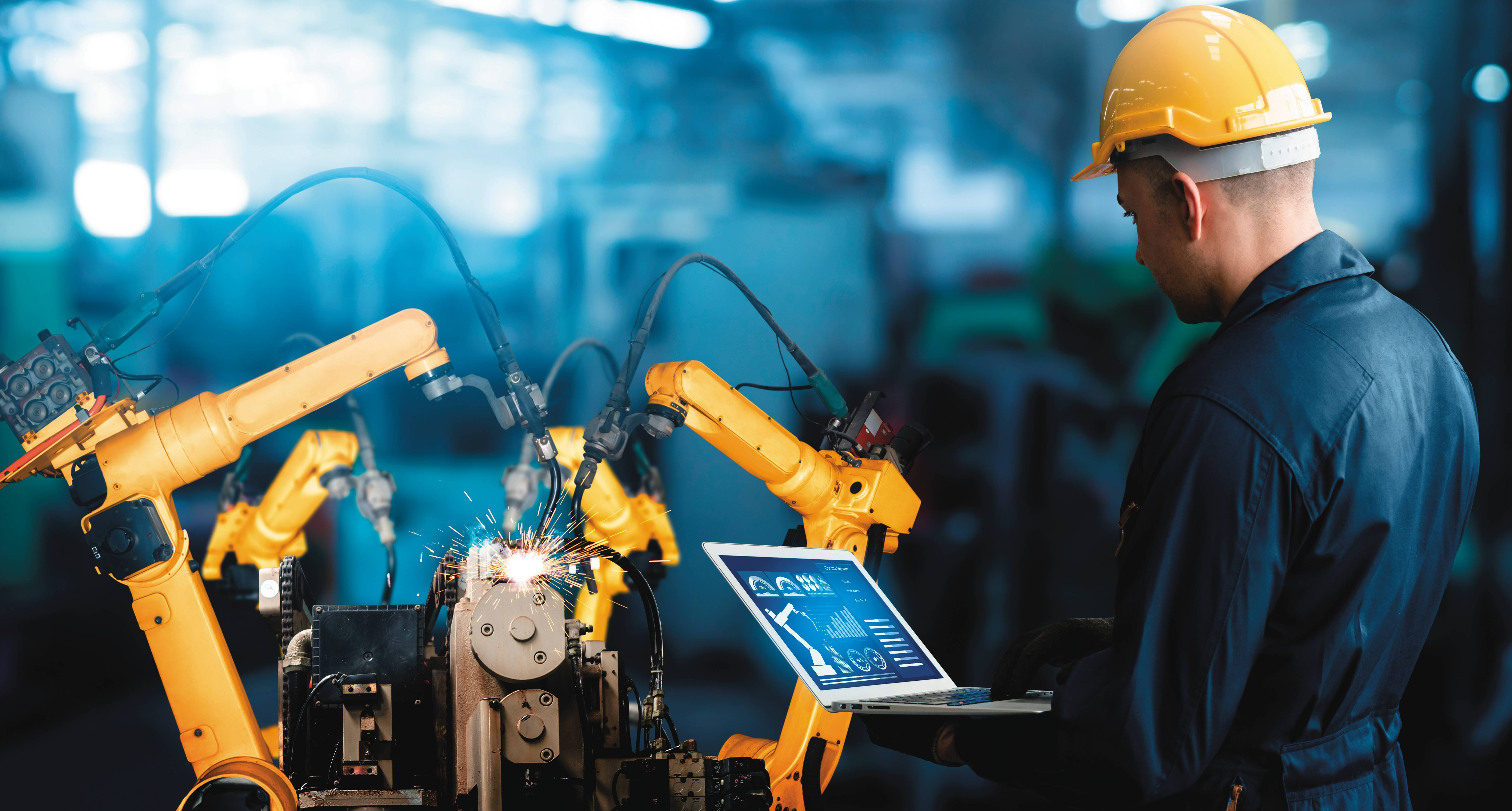 O futuro da indústria passa pela transformação digital preconizada pela quarta revolução industrial.
