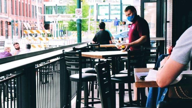 Segurança em restaurantes.