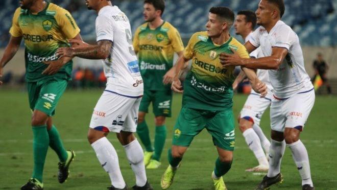 Paraná empatou com o Cuiabá na Arena Pantanal.