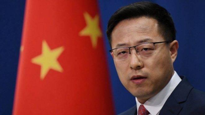 Porta-voz do Ministério das Relações Exteriores da China, Zhao Lijian|