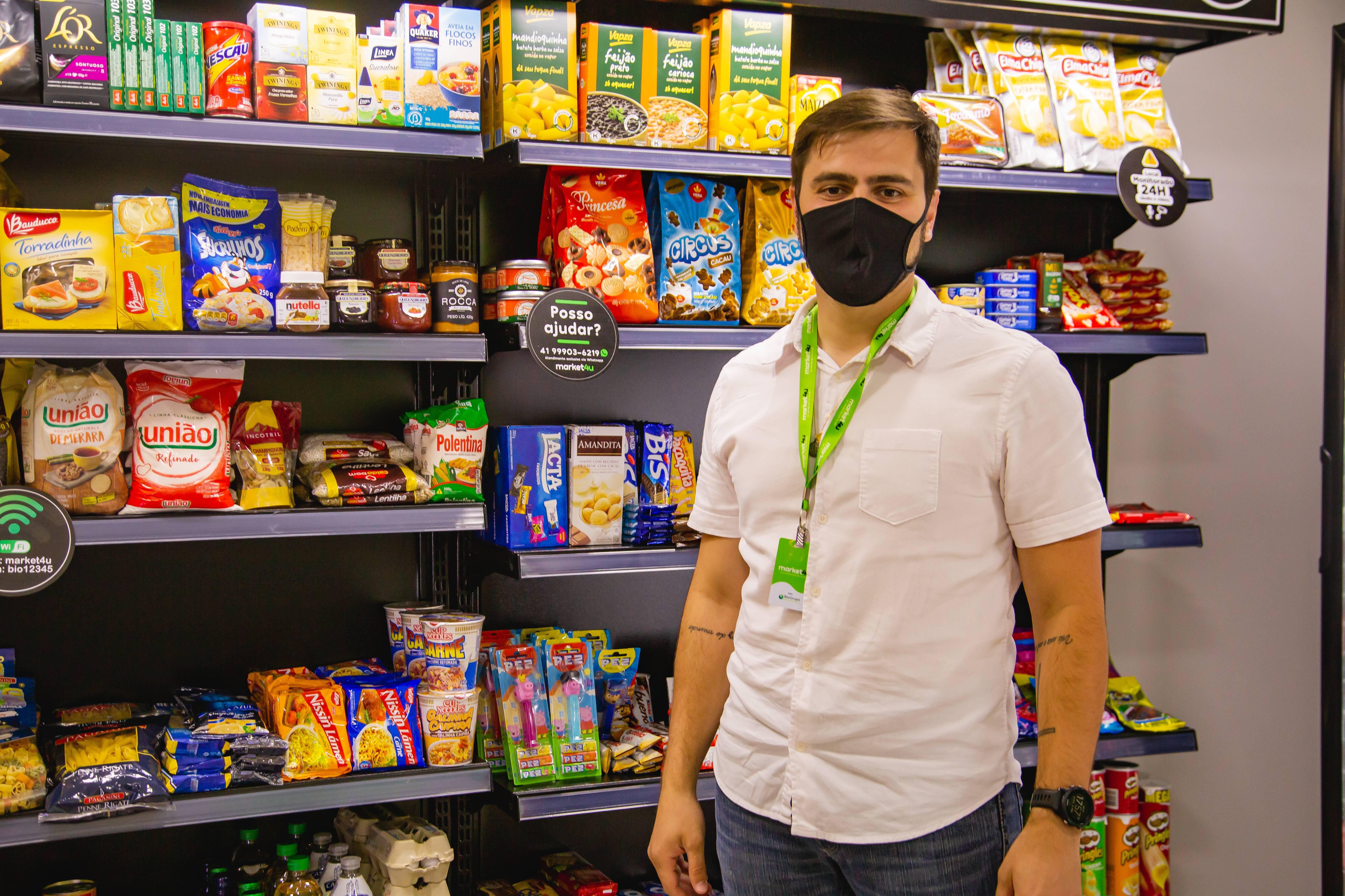 Eduardo Córdova, CEO e cofundador da Market4u.