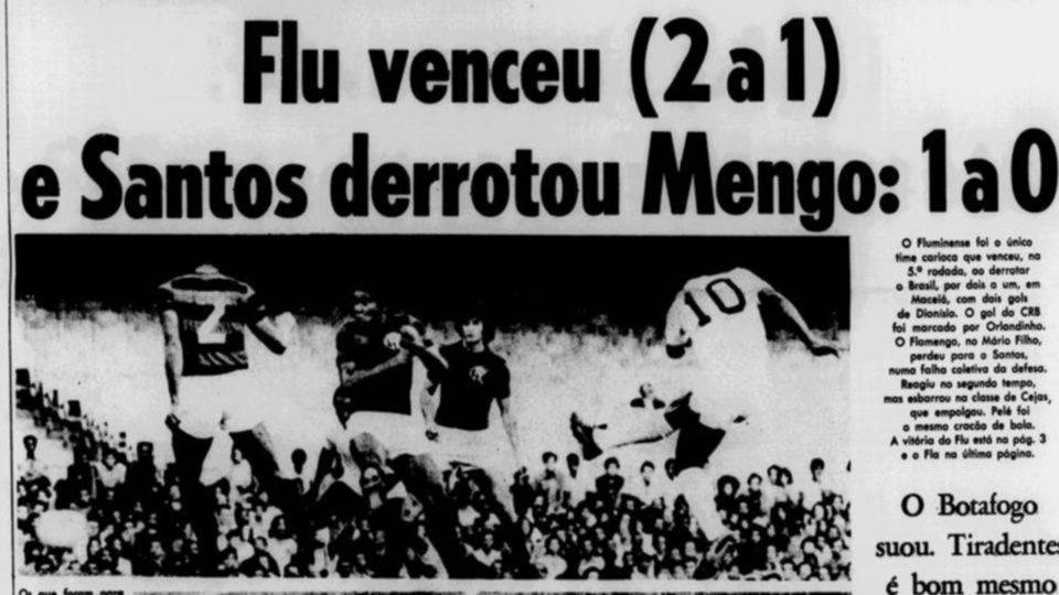 A tarde na qual pensei ter visto um gol de Pelé