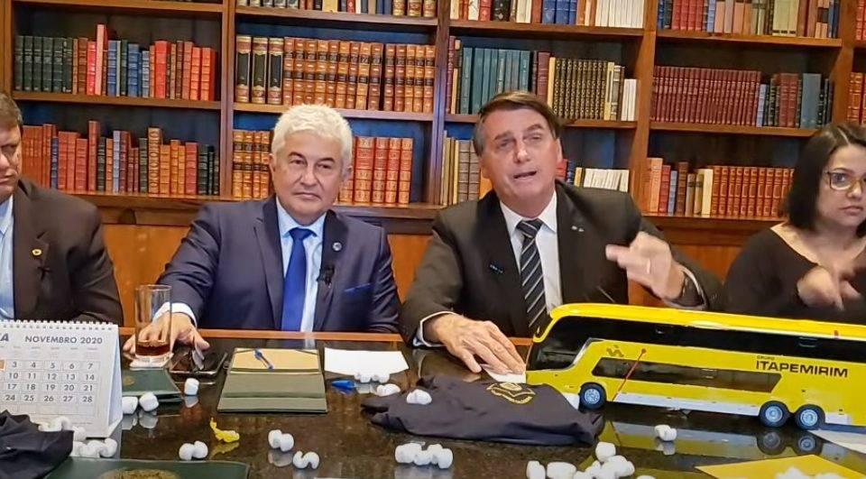 "Bolsonaro volta a criticar Doria: ""aprendiz de ditador"""