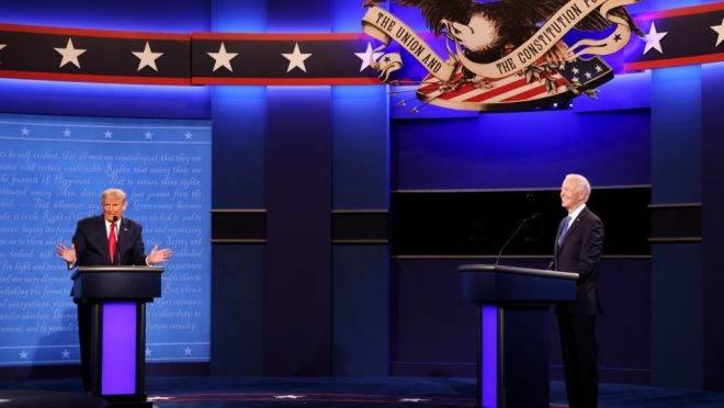 No dia 22 de outubro de 2020, Trump e Biden se enfrentaram pela última vez antes das eleições presidenciais de 3 de novembro.