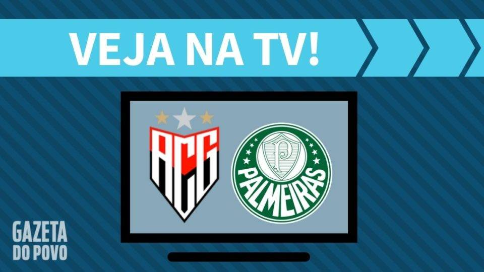 Atlético-GO x Palmeiras AO VIVO: saiba como assistir ao jogo na TV