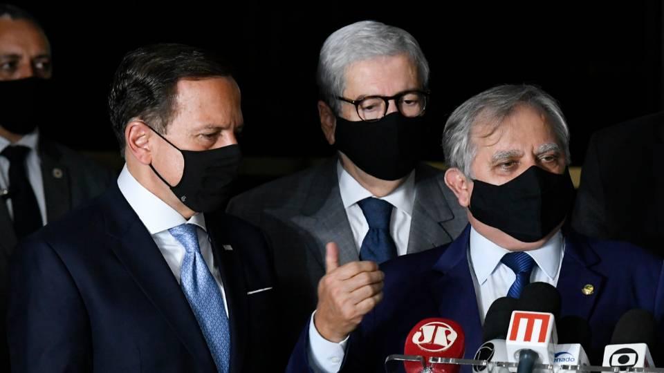 Indeciso sobre seu papel, PSDB de Doria vê avanço de ala bolsonarista no partido