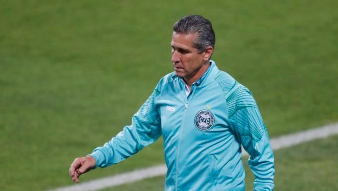 Técnico Jorginho, do Coritiba.